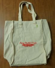 TONY PACKO'S CAFE logo Hungarian eco tote bag Toledo MASH Ohio travel Est. 1932