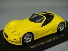 Spark S1460 1/43 GILLET VERTIGO ROAD VERSION 1998 Amarillo Coche de Modelo Japón