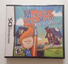 Max & the Magic Marker: Run Jump Think Draw Nintendo DS SEALED USA Version Spiel