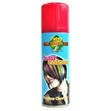 Party Coloured  Hairspray Temporary Green Pink Glitter Fancy Dress Accessories