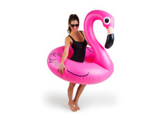 Giant Pink Flamingo Pool Float Raft Tube Beach Party Swimming Toy Adult Fun