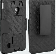 *Verizon OEM Shell Holster Combo Case W/ Swivel Clip For LG Lucid 2 VS870 VS-870