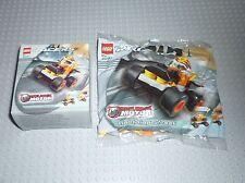LEGO Racers 4297 Lightning Streak pull back motor - Sealed - Duracell Promo Pub