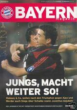 Bayern München + Schalke + Programm Magazin +16.10.2004