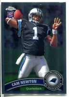 2011 TOPPS CHROME CAM NEWTON RC ROOKIE #1 PANTHERS