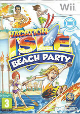 VACATION ISLE BEACH PARTY for Nintendo Wii - PAL
