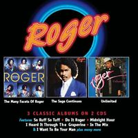 ROGER - THE MANY FACETS OF ROGER / THE SAGA CONTINUES / UNLIMITED (Super Jewel)
