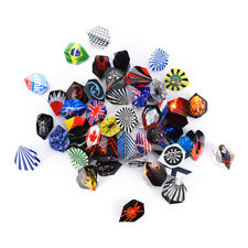 150X/lot Dart Flights in 50 Kinds of Patterns RARE Dart Fin Feather+Accessory K0