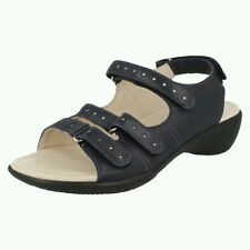 Clarks 100% Leather Wide (EE) Casual Shoes for Women