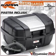 BAULETTO KAPPA GARDA 52LT + PIASTRA MONOKEY TRIUMPH TIGER 800 /XC / XR 2011-2017