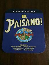 EH, PAISANO 100% ITALIAN AMERICAN CLASSICS LIMITED EDITION CD 18 TRACKS STEELBOX