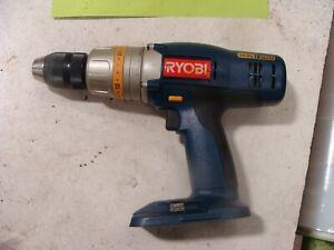 """Ryobi 1/2"""" 18V 3-SPD Hammer Drill HD1830 cordless no battery"""