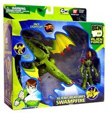 Ben 10 Alien Force Alien Creatures Swampfire Action Figure Set