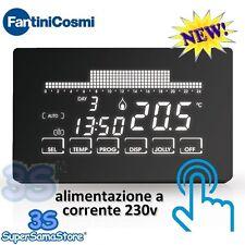 3S NUOVO CH193 Crontermostato ultrapiatto touch screen settimanale FANTINI COSMI