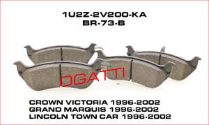 D-674 NEW OEM REAR LH & RH  BRAKE PADS 1996-2002 CROWN VICTORIA 1U2Z-2V200-KA