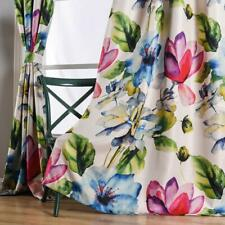 Taisier Home Stylish Living Elegant Abstract Colorful Curtains Printed,Colorful