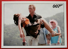 JAMES BOND - Quantum of Solace - Card #029 - Bond Carries Camille Ashore