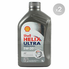 Shell Helix Ultra Professional AF 5w30 Fully Synthetic Engine Oil 2 x 1 Litre 2L