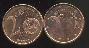 CHYPRE     2 cents  2008  SPL  neuve  ( sortie du rouleau )
