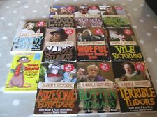 Set of 10 Horrible History Books Plus Extra Horrible Trenches
