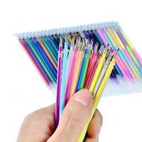 Office School 24Colors Refills Markers Watercolor Gel Pen Replace Supplies
