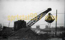 PE Pacific Electric Railway - Crane #00194 - Vintage Railroad Negative