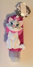 Marie Aristocats Hand Sanitizer Keychain Refillable Disney Theme Parks NEW NWT