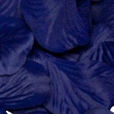 Navy Blue Rose Petals Fabric Confetti (Bulk Bag of 1000 petals)