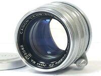 [Near Mint] Canon 50mm f/1.8 Leica Screw Mount L39 LTM Leica L from JAPAN