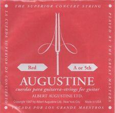 Augustine Corde à l'unité Red A or 5th Guitare Classique Tirant normal