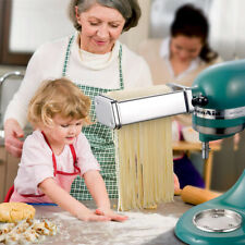 Stainless Steel Noodle Spaghetti Pasta Maker Roller Machine Fettuccine Maker