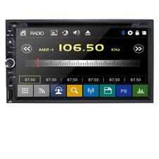 "HIZPO Head-Double Din 7"" Car Stereo Radio DVD Player Ipod Bluetooth TV Mic Mp3"