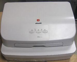 Olivetti PR2 PLUS Pass Book Printer - Base Model - Model B8117 - £225 + VAT