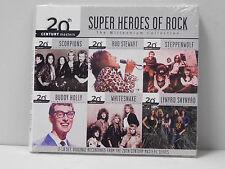 Various Artists - Super Heros Of Rock (cd set, 20th Century Masters) M sealed