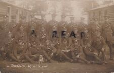 WW1 soldier Group Transport Section 2 / 2nd Home Counties Field Ambulance RAMC