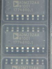ADM232AARNZ IC TX/RX DUAL RS-232 5V 16SOIC ROHS 10 PIECES