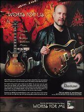 The John Scofield Signature Ibanez Model JSM100 guitar ad 8 x 11 advertisement