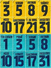 2019-20  FC Barcelona  nameset  Champions League Away Third Player Issue Messi
