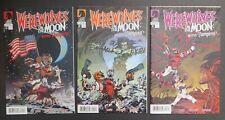 Werewolves On The Moon Versus Vampires (2009) #1-3 VFFN Fillbach Bros Dark Horse