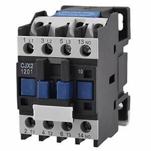 Baomain AC Contactor CJX2-1201 220V 50/60 HZ 3 Poles Normally Closed