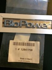 BIOPOWER Emblème rear, NEW, Genuine SAAB Pt No 12841799 for 9-3 2003+/9-5 2010+