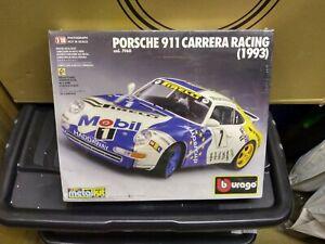 BBURAGO PORSCHE 911 CARRERA RACING 1993 1/18 scale KIT