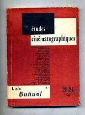ÉTUDES CINÉMATOGRAPHIQUES - LUIS BUNUEL I # 1963