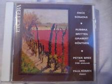 ETCETERA KTC 1074. OBOE SONATAS. RUBBRA, BRITTEN, PETER BREE, PAUL KOMEN.1989 CD