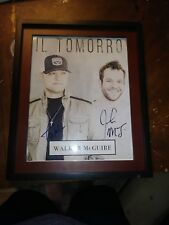 Walker McGuire Country Musicians Signed 11x14 Framed Photo