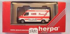 Herpa 1/87 043229 Mercedes Benz Sprinter RTW Die Johanniter Frankfurt OVP #5782