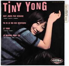 TINY YONG - 1965 France EP 45 tours Eight Days A Week Beatles