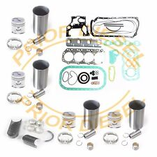 92-98 Isuzu 3.9L NPR GMC Chevy W-series Truck Diesel 4BD2T Engine Rebuild Kit