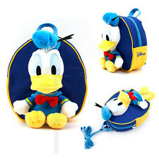 Disney Donald Duck Anti-Lost Safety Harness Kids Child Baby Backpack Blue Bag