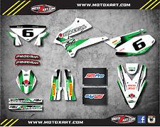 Kawasaki KLX 250 2008 - 2016 Full custom sticker kit STORM style decals